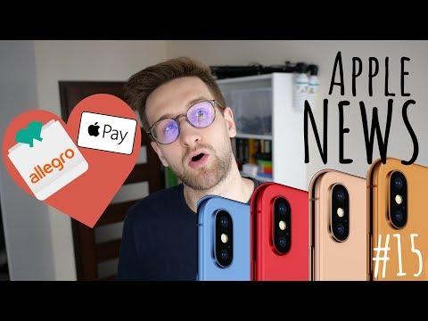  APPLE NEWS #15 - Kolorowe🌈iPhony, nowe MacBooki, ApplePay w Allegro!