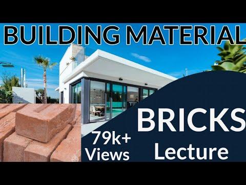 BUILDING MATERIAL TOPIC -BRICKS (HINDI &ENGLISH)