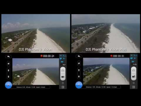 DJI Phantom 2 Vision vs. DJI Phantom 2 Vision+ (Plus) Side-by-Side Comparison, WiFi Range/Stability
