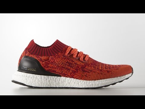 6d447dc051597 Unboxing Adidas Solar Red Ultra Boost Uncaged - YouTube