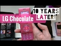LG Chocolate Unboxing! (10 years later)