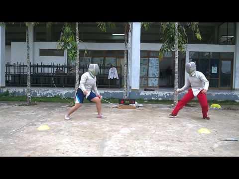 Fencing Sabre | Training | Anggar kukar