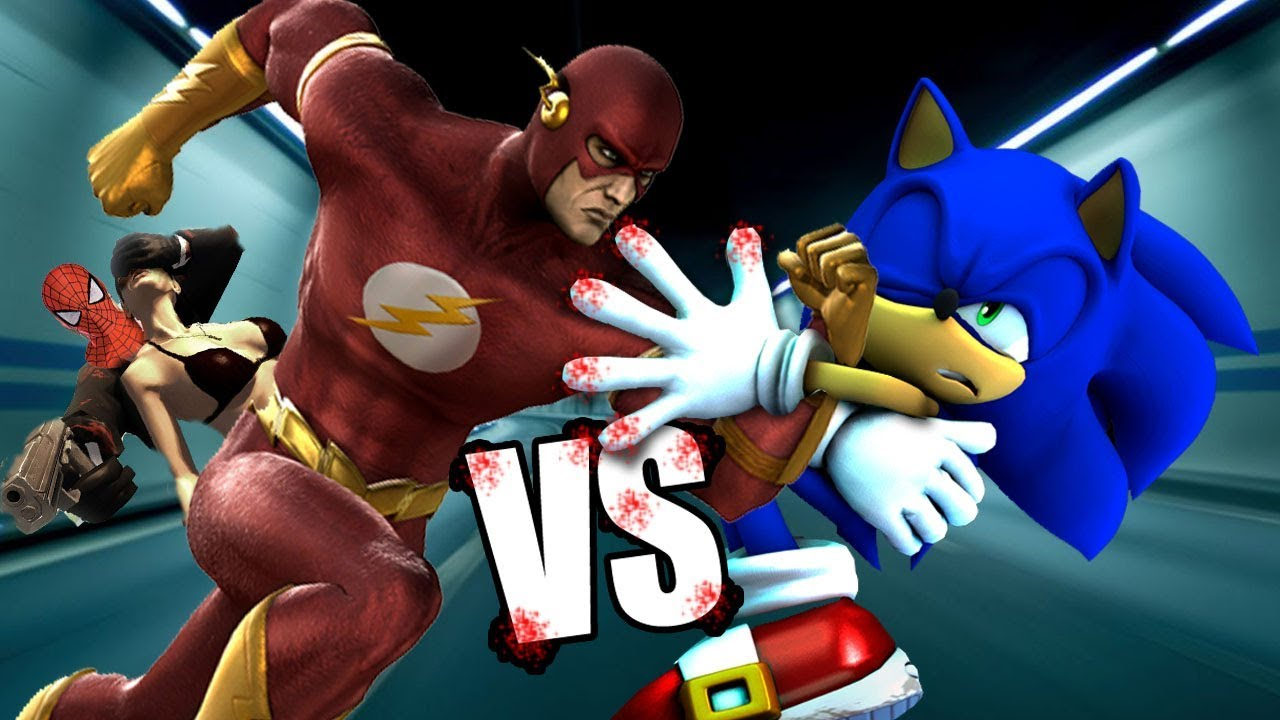 flash vs sonic - photo #30