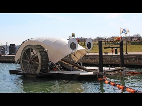 Ocean garbage can power homes