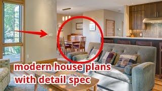 Modern House Plans With Details Spec
