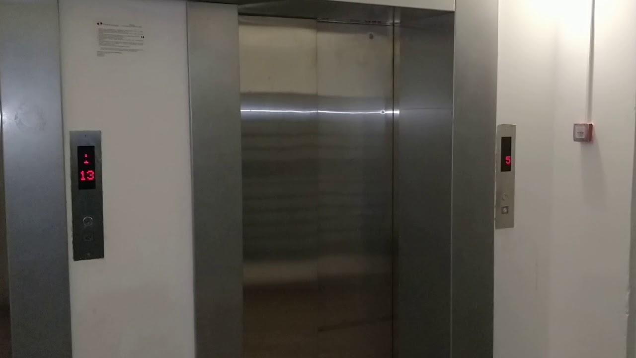 Работа лифта при срабатывание пожарной охраны.