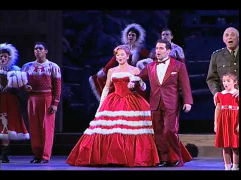 white christmas the musical on broadway youtube - White Christmas Play