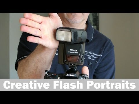 Flash photography , better portraits using an external flashgun, bounce flash with a difference