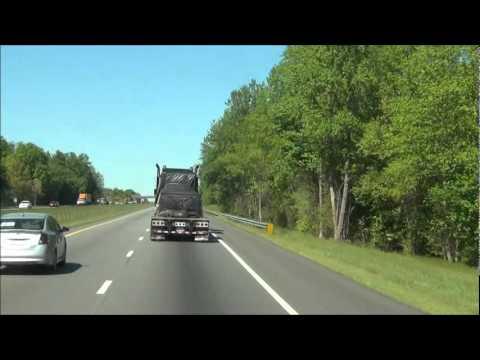 North Carolina - Interstate 77 North - Mile Marker 60-70 (4/12/12)