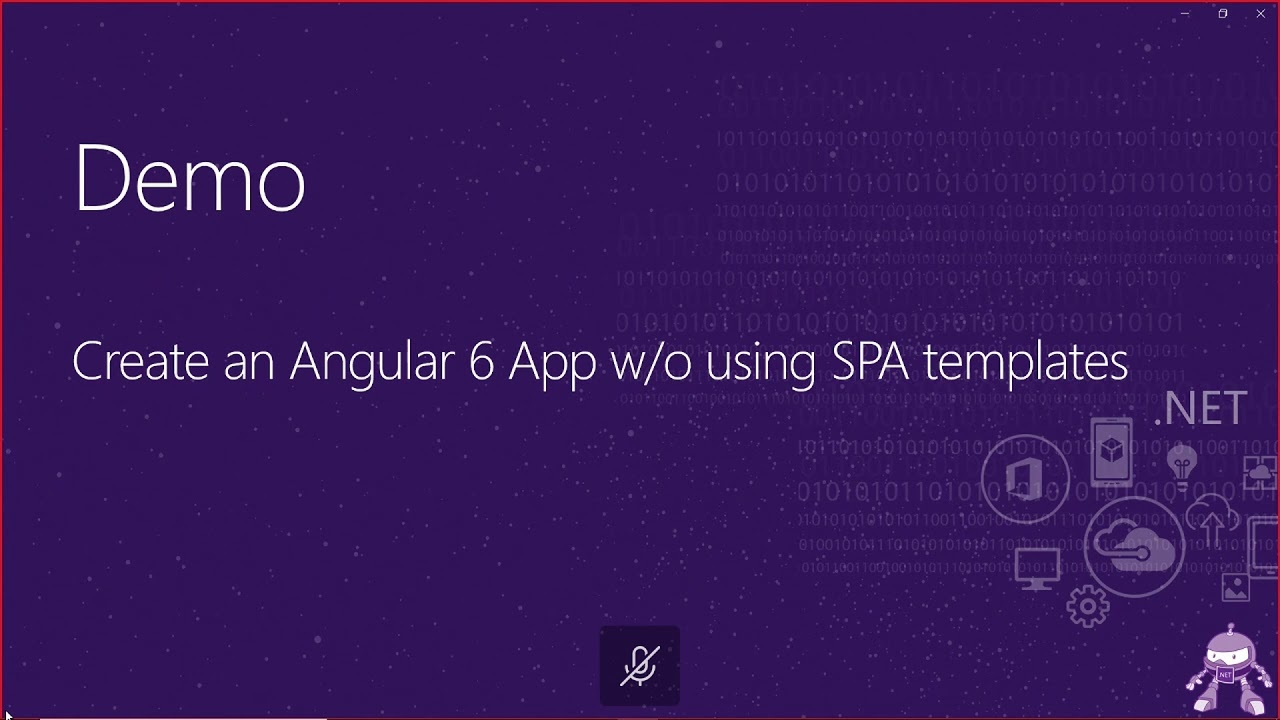 Building applications with Angular 6 and ASP NET Core 2 1 |  NET