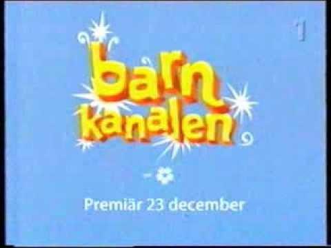 "SVT: lansering av ""Barnkanalen"" (dec 2002) - YouTube"