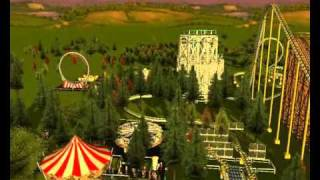 RCT3 - Cougar Point Amusements