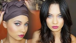 HOW TO WRAP YOUR HAIR & KEEP IT STRAIGHT OVERNIGHT!