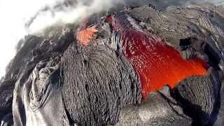 12 10 11 Lava Flow Hawaii Kilauea Volcano Lava Flow GoPro Hero 2