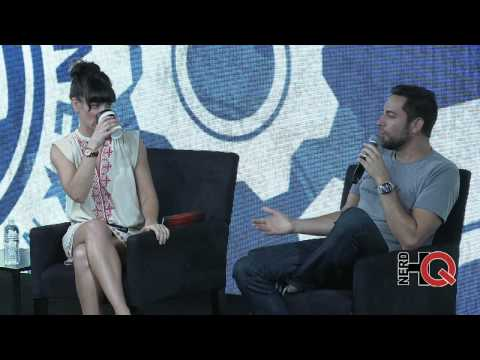 A Conversation with Evangeline Lilly live from NerdHQ 2014