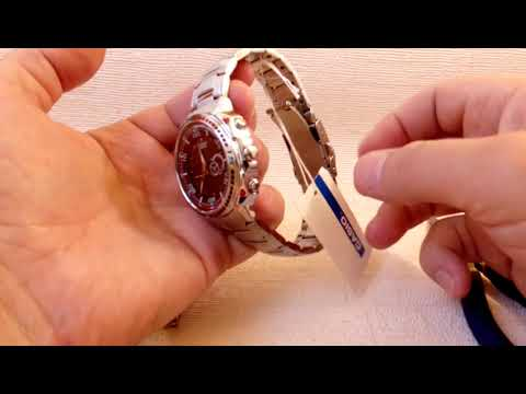 Удаление звеньев EDIFICE CASIO EFA-121D /  Removing EDIFICE CASIO Links