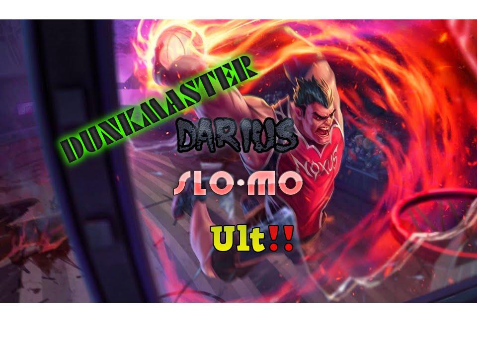 Dunkmaster Darius ULT SLO-MO - YouTube