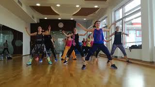 Yemi Alade - Bum bum Zumba choreography