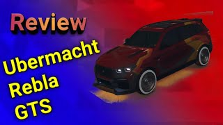 The Ubermacht Rebla Gts SUV car review | GTA 5 online