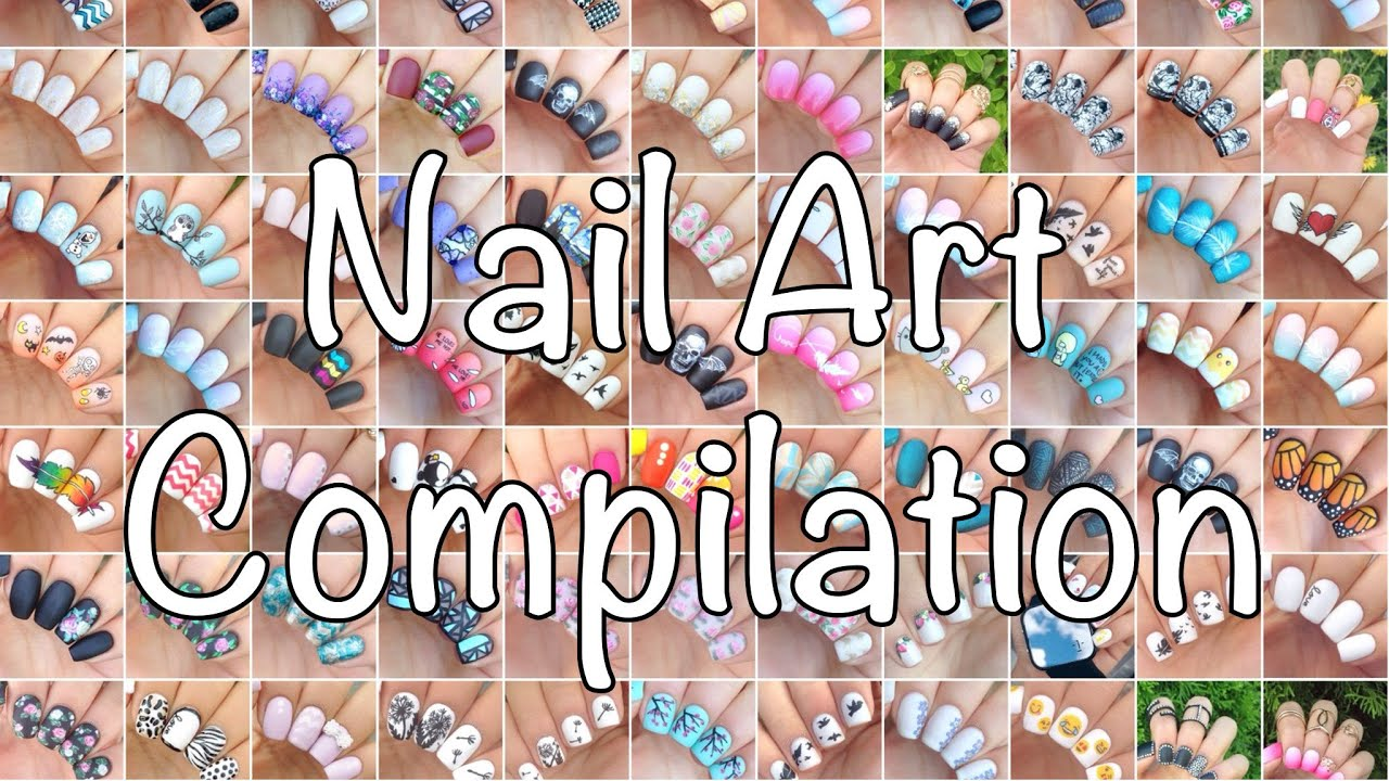 Nail art compilation d youtube sciox Image collections