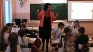 Урок  окружающего мира в 4 классе , тема : Особенности кожного покрова     Система Л.В. Занкова