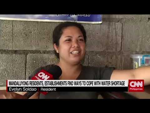 Mandaluyong residents, establishments find ways to cope with water shortage