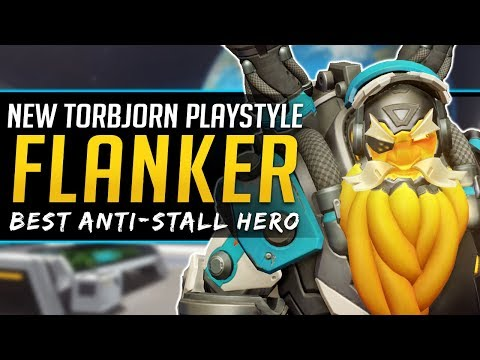 Overwatch How to Play NEW Torbjorn - Flank Turrets!