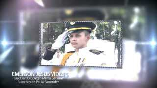Recuerdo Promoción 2013- Colegio Militar General Francisco de Paula Santander - Cúcuta