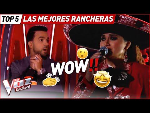 Las mejores actuaciones RANCHERAS en La Voz!