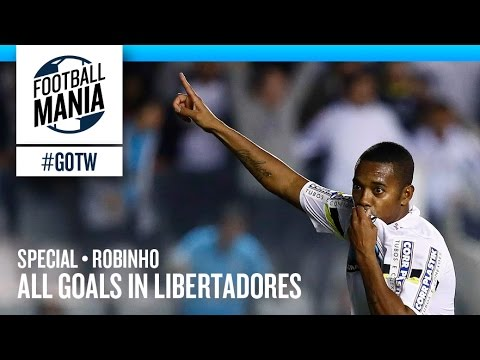 Goals of the Week • Special • Robinho - All goals in Libertadores
