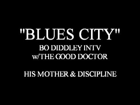 FUNK CITY - BO DIDDLEY INTERVIEW - JUST CHATTIN'