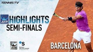 بالفيديو .. #نادال يتأهل لنهائي #برشلونة_المفتوحة ..ويريد العاشرة فقط