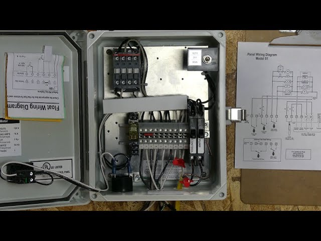 """how to wire an orenco """"s"""" series control panel  youtube"""