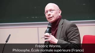 Frédéric Worms & Jean-Marie Delarue - Extrait Conférence Nouveaux Dissidents - Nouveaux Résistants