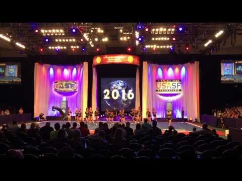 Tribe Cheer Chiefs worlds 2016 Day2