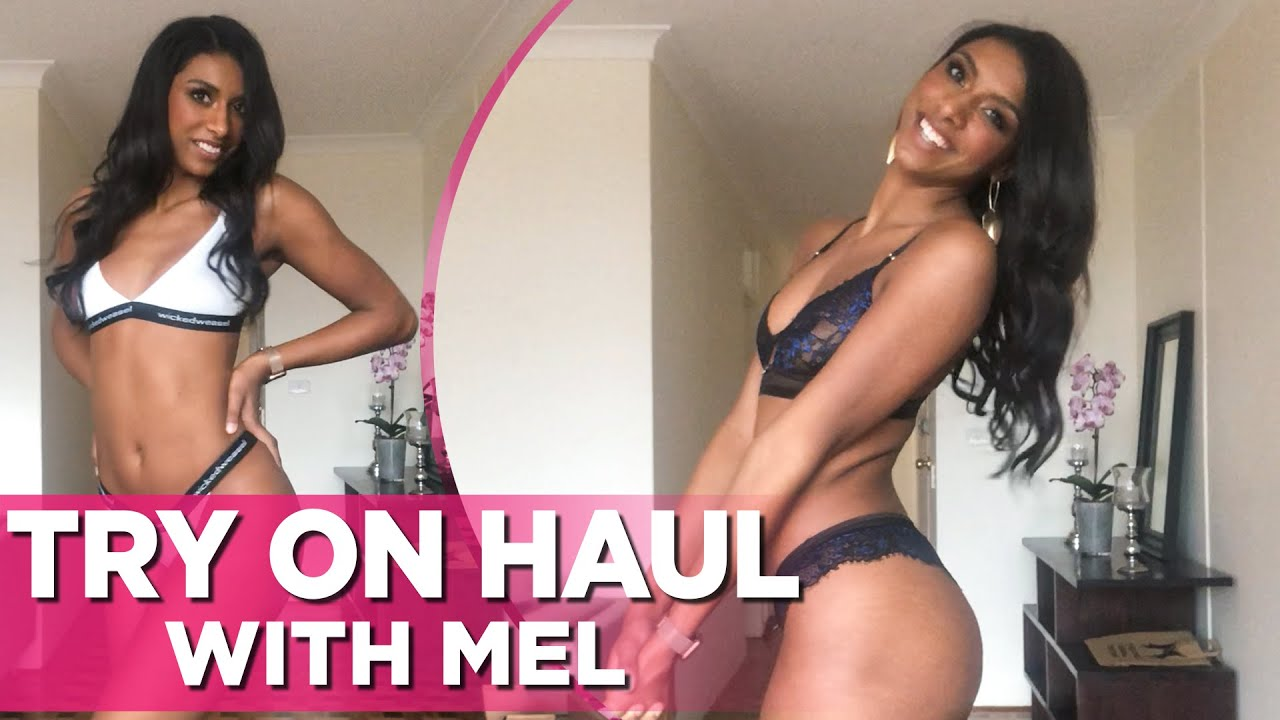 Sexy Wicked Weasel Lingerie & Bikini Try On Haul Video With Gorgeous Mel