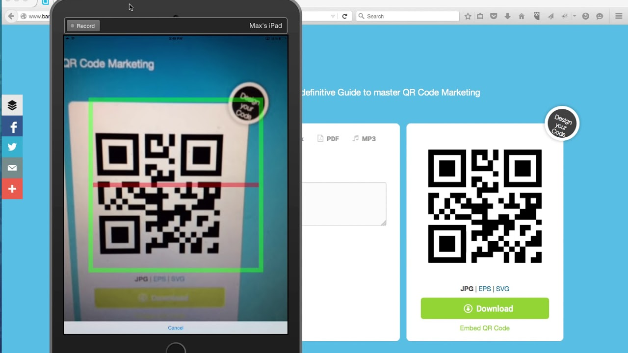 Building a Mobile App with Barcode Scanner and SQL Database