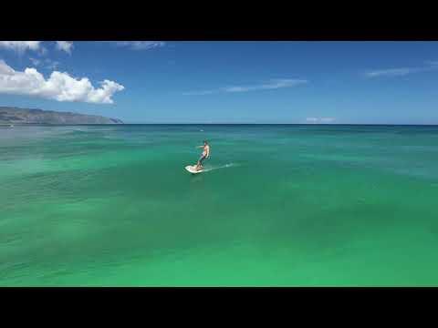 Fliteboard rental - Riding waves in Hawaii on the Fliteboard eFoil