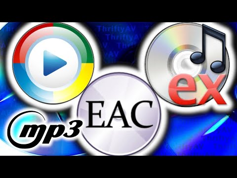 Ripping Compact Discs to mp3!  What's Easiest? Windows Media Planer, CDex, or Exact Audio Copy?