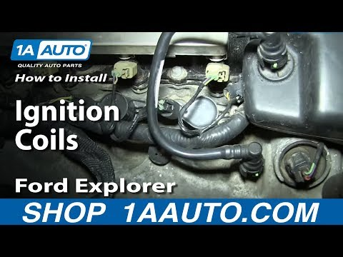 How To Install Replace Ignition Coils 4.6L V8 2006-08 Ford Explorer F150 Mustang More