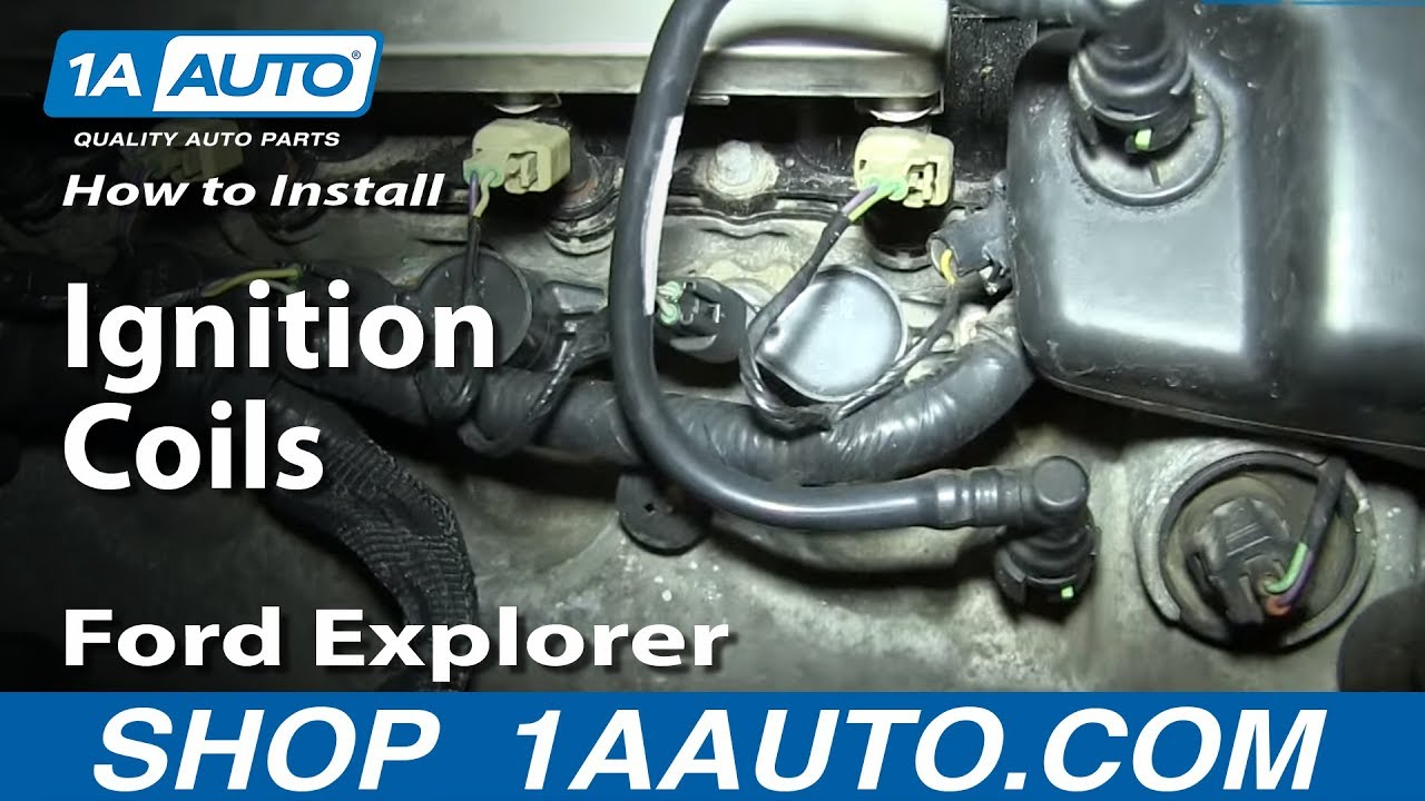 How To Install Replace Ignition Coils 46L V8 200608 Ford Explorer F150 Mustang More  YouTube