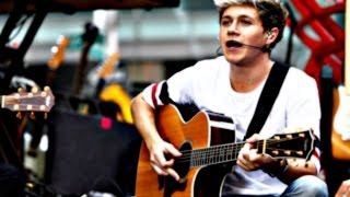 Niall sings little things solo 15 times!