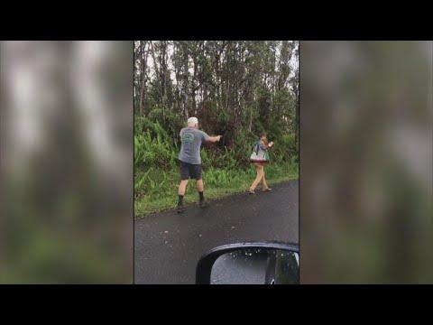 Man in Hawaii accused of shooting neighbor as tensions erupt amid volcano