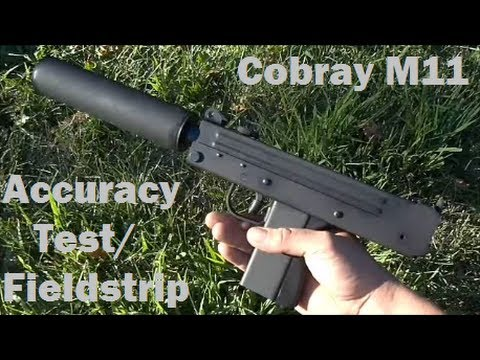 Cobray M11 Accuracy Test/Fieldstrip