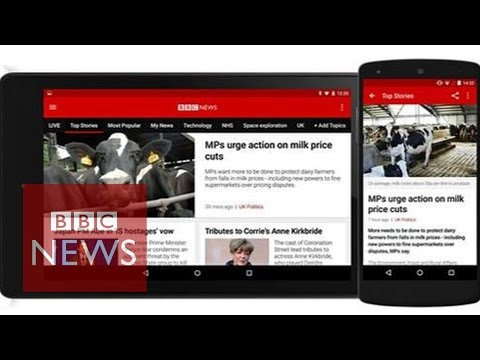 BBC News app: Hands-on with the 'personalised' revamp