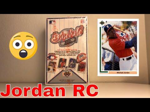 Michel Jordan Baseball RC! 1991 Upper Deck Break! (Part 1)