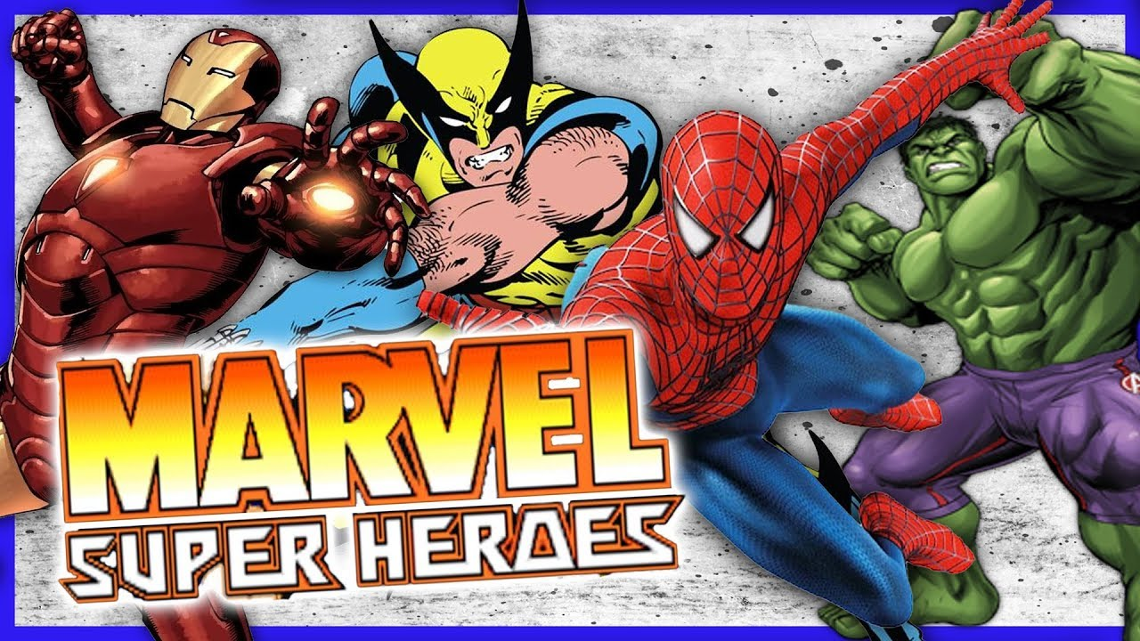 QUICK GAME-PLAY! MARVEL SUPER HEROES | MAME EMULATOR | ARCADE GAMING