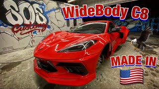 2020 C8 Corvette StreetHunter Widebody is Done!