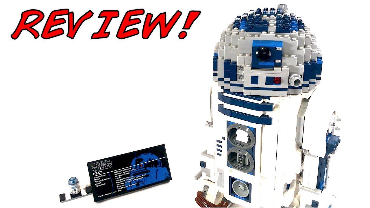 Lego star wars 10225 ucs r2 d2 review 2012 set youtube - Lego starwars r2d2 ...