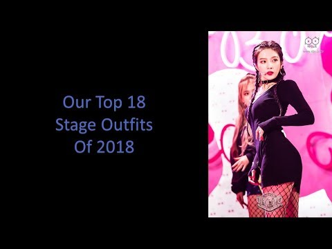 Our Top 18 On Stage Outfits of 2018 (Ranking)